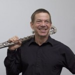 Have bass flute, will travel | photo by Coralee